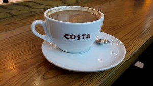 First Costa's coffee