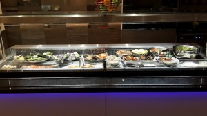 Great fresh salad bar