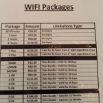 Town Lodge Wifi Pricing